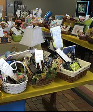 Our annual Hops for Hope silent auction basket fundraiser